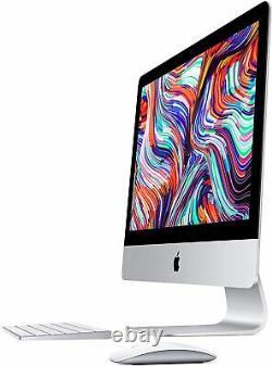 2019 Apple iMac 21.5''4K I3-8100 3.6 GHz 8 256GB SSD Radeon Pro 555X MHK23LL/A