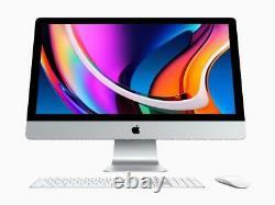 2020 Apple iMac 27 5K 3.1GHz 16GB 256GB Flash SSD Radeon Pro 5300 4GB