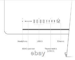 27 APPLE iMAC PRO 3.0GHz 10 CORE 5K 2TB SSD+8TB SSD (10TB) 128GB RAM 16GB VIDEO
