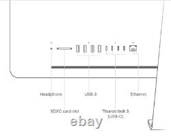 27 APPLE iMAC PRO 3.2GHz 8 CORE 5K 2TB SSD 64GB RAM RADEON PRO VEGA 64 16GB