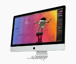 27-inch Apple iMac 3.8Ghz 8-core 10th Gen 16GB Ram 512GB SSD 5500 XT Retina Mac