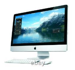 APPLE iMAC 27 inch 2.7GHZ i7 16GB 1TB 512MB GC HIGH SIERRA FULLY LOADED