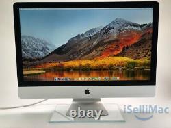 Apple 27 iMac 5K 2015 4GHz Core i7 3TB Fusion 32GB A1419 MK482LL/A-BTO