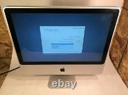 Apple iMac 20 A1224 2009 Intel C2D 2.66GHz 4GB 320GB OSX 10.11