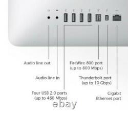 Apple iMac 21.5''@2.5GHz core-i5 8GB RAM 1TB HDD KB SET High Sierra (mid 2011)