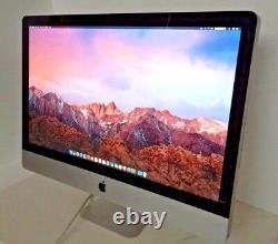 Apple iMac 21.5 / 3.06GHz / 8GB RAM / Radeon GPU / 2TB HDD Ready for use