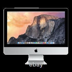 Apple iMac 21.5 Intel Core i5 4th-Gen 2.7GHz 8GB RAM 1TB HDD 2013 Very Good