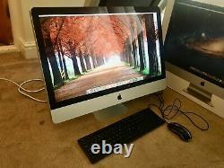 Apple iMac 27 A1312 Intel Quad Core i7 3.4GHz 256GB SDD 1T HDD 16GB RAM OSX