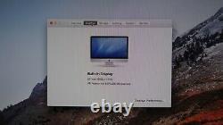 Apple iMac 27 INTEL Core i5 2.66GHz 8GB RAM 1TB A1312 HIGH SIERRA