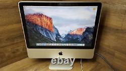 Apple iMac 9,1 A1224 20 Core 2 Duo 2.66GHz 2GB RAM 320GB HDD El Capitan
