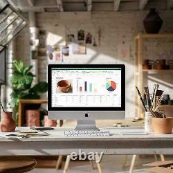 Apple iMac Desktop 27 5K MNE92LL/A 3.4GHz i5 8GB 1TB 2017 Model WTY