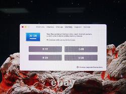Apple 2017 Imac 27 Retina 5k A1419 I7-7700k 4,20ghz 32gb Ram 3tb Fusion Amd 8gb