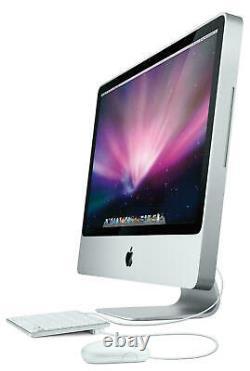 Apple Imac 20 A1224 Core 2 Duo 2.0ghz 2 Go 160 Go Hd Os 10.11 + Souris Et Clavier
