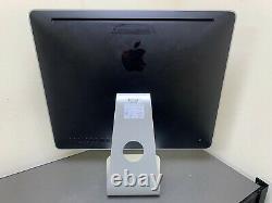 Apple Imac 20 A1224 Intel Core 2 Duo 2.4 Ghz 4 Go 250 Hd 2008 Remis À Neuf