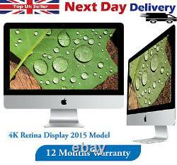 Apple Imac 21.5 4k Retina 2015 Desktop Core I5 5th-gen 3.1ghz 8 Go Ram 1 To Hdd