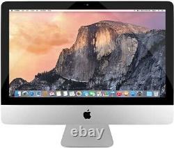 Apple Imac 21.5 Bureau Intel Core I5 1.40ghz 8 Go Ram 500 Go Hdd Mf883ll/a