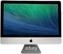 Apple Imac 21.5 Bureau Intel Core I5 2,50ghz 4 Go Ram 500 Go Hdd (mc309ll/a)