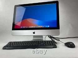 Apple Imac 21.5 I5 2.5ghz Cpu 8 Go Ram 1 To Hdd Clavier De Souris Macos 10.13