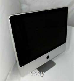 Apple Imac 24 Pouces C2d 2,8 Ghz / 500 Go / 2 Go Ram / Combo Drive / Os 10,11
