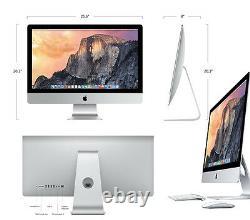 Apple Imac 27 5k Retina Displaycore I7 4.0ghz 32 Go 512 Go (fin 2015) A Grade