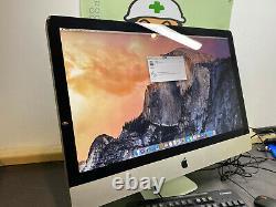 Apple Imac 27 A1312 3.4ghz Core I7 Processor 4 Go 2 To Hdd High Sierra MID 2011