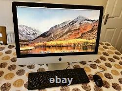 Apple Imac 27 A1312 Intel Quad Core I7 3.4ghz 256 Go Sdd 1t Hdd 16 Go Ram Osx