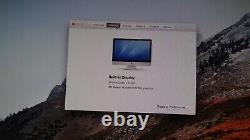 Apple Imac 27 Intel Core I5 2.66ghz 8 Go Ram 1tb A1312 High Sierra