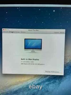 Apple Imac 27(mid2011), Intel Core I7 3.4ghz, 16 Go Ram, Ssd 256 Go, Hdd 1to