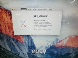 Apple Imac A1224 MID 2007 20 Intel C2d 2ghz 2 Go Ram 250 Go Hdd Os 10.11.5