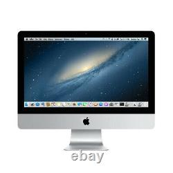 Apple Imac A1418 Me086ll/a 21.5 Pc Avec I5-4570r 2.7ghz 16 Go 1 To Hdd Utilisé