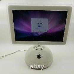 Apple Macintosh Imac G4 M6498 1,25ghz 512mb 80hd Dvd-cdrw 15 LCD Mac Os X
