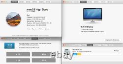 Application Imac 27 Pouces 3.4ghz I7 16go 1tb 1024mb Gc High Sierra Fully Loaded