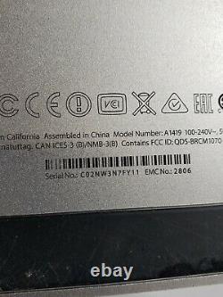 Lire Les Détails Apple 27 Imac A1419 5k Fin 2014 1tb Hdd 24 Go Ram I5-4690 3,5ghz